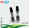 2014 waidea hottest selling glass globe vaporizer GV1&GV2 kit for dry herb wax vaporizer clearomizer ego c twist ecig