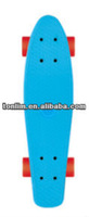 fish brand original factory 22 inch blue plastic fish skateboards