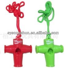 3 Colors Samba Whistle