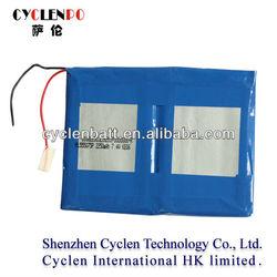 7.4V, 2250mAh, LP555075 Li-polymer Rechargeable Battery For digital camera