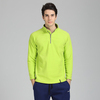 mens fleece waterproof windbreaker half zip fleece jacket