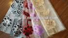 100% polyester organza jacquard curtain fabric design