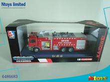 FASHION 1:50 FREE WHEEL DIE-CAST FIRE TRUCK, 6486683