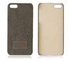 Fabric hard plastic case for iphone 5