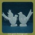 2014 nuevo blanco de cerámica de las aves