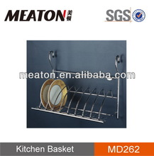 Hot selling economic high quality kitchen bowl and plate drawer basket