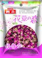 chinois séchés rose bud à base de plantes de thé