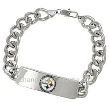 Silvertone National Football League Team ID Bracelet
