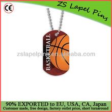 baseketball dog tags/sports dog tag