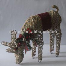 reindeer branded christmas ornaments