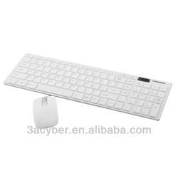 New Fashion 2.4 G Wireless Suit Ultra-thin Wireless Keyboard Mouse Combo