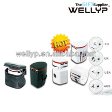 universal international travel power plug adapter