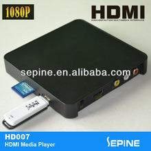 Cheap mini flash drive sd card usb media player for tv