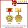 2014 new design high quality military metal medals with pin