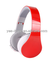 Hot offer!!! Ideal sound FM customed bluetooth headset with Mic SD card reader function suit for pc/ phone/mp3/mp4