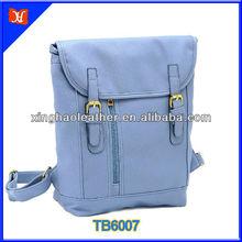 2014 Trendy PU lady backpack cute violet backpack, backpack strap adjuster
