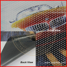 perforated vinyl one way vision,glass sticker,one way vision for out door advertisment printing
