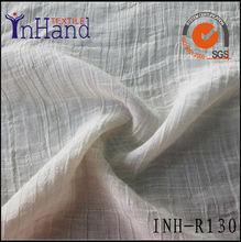 2014 fashion wolesale polyester rayon crepe checks fabrics