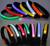 Safety Luminous Glow Pet Dog LED Collar Safety necklace Flashing Lighting Up ,Reflective collar in the night