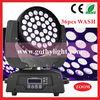 CE RoHS 36x10w 4in1 Wash / Moving-head Par