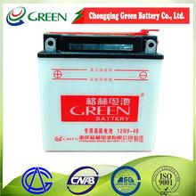 Moto parts/12V 9AH Dry-charged motorcycle battery 12N9-4B/ Racing Moto Batteries