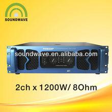 1200w high power audio sub woofer amplifier/ dj pro amplifier F1200