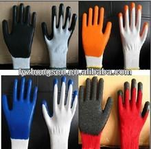 nitrile coated working gloves ,black work glove,nitrile work glove