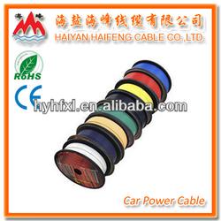 Colored Automotive Wire