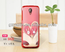 Gel soft cover for lenovo s820 pouch case