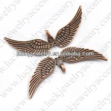 metal bird pendants charms