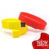 bracelet usb flash drive, rubber wristband usb flash drive, color wristband usb