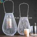 birdcage para decoração lanternas de ferro para velas