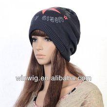 Fashion Womens Men Grey Knit Beanie Hat Collar Hats Scarves Winter Warm Ski Cap