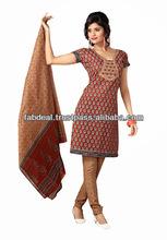 2014 new style fashion dress | ladies cotton print readymade dress | indian cotton dresses