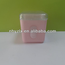 Small plastic candy containers/ Candy boxes with window / Empty candy boxes