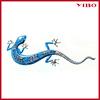20'' wrought iron gecko decoration metal wall art