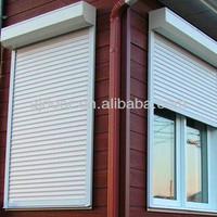 Aluminum anti-theft shutter windows