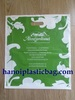 Biodegradable patch handle plastic bag LDPE
