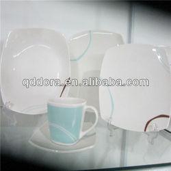 blue white dinner set tableware,dinner cutlery set,western porcelain dinner set