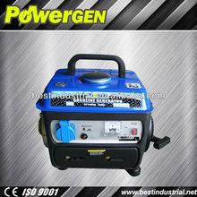 Hot Sale!!!POWE-GEN Super Design Mini Type BG1500DC Homeuse 800W Gasoline Generator