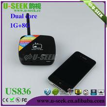 U-SEEK factory produces 1GB/8GB android 4.1 dual core US836 dvb-t2 stb