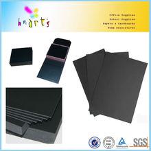 black cardboard sheet for photo album,laminated black cardboard sheets,black paper photo album bord,black paper cardboard
