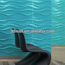 3d panel de decoración de la pared de color