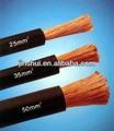 Cobre flexible/ Cable para soldadura eléctrica con aislamiento de hule CCA