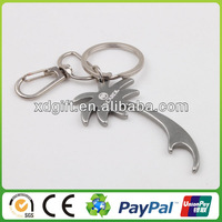 promotion custom bottle openers key chain made in China (XD-4098)
