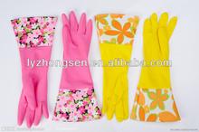 household working gloves, washable work gloves,long work gloves