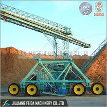 heavy load gravity system belt conveyor plant