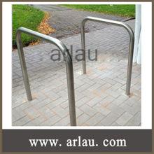 Ao ar livre de aço inoxidável da bicicleta display rack ( Arlau BR36 )