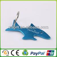 great elegant flat metal fish shape bottle opener (XD-4106)