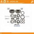 Diferencial isuzu kit de reparo do caminhão peças do forjamento de alta quality1-41561-037-0 1-41561-036-0 1-41551-016-0 1-41551-017-0